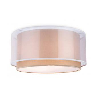 Chicago Ceiling Light, Taupe