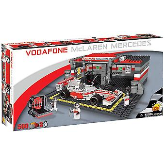 McLaren 500 Piece F1 Racing Car & Garage Construction Set