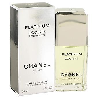 Egoiste Platinum Eau De Toilette Spray By Chanel 1.7 oz Eau De Toilette Spray