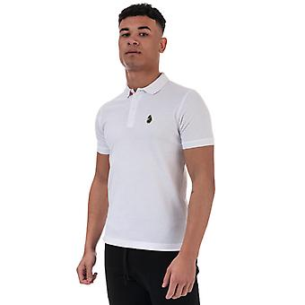Men's Luke 1977 Williams Polo Camisa en blanco