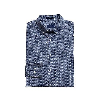 Gant Men's Mini Floral Print Shirt Slim Fit