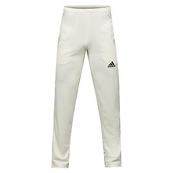adidas Howzat Mens Cricket Whites Batting Bowling Pant Trouser White