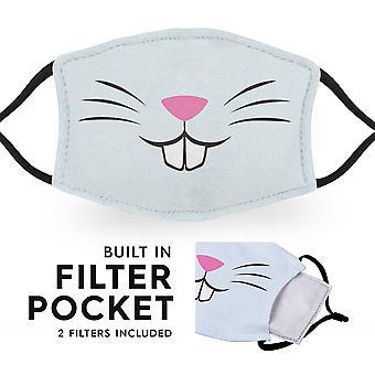 Rabbit Bunny Mouth - Herbruikbare kindergezichtsmaskers - 2 filters inbegrepen