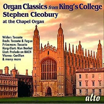 Organ Classics From King's College Chapel [CD] USA import