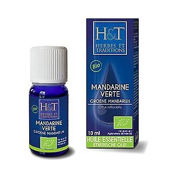 Essential Oil Green Mandarin (Citrus reticulata) Organic 10 ml of essential oil