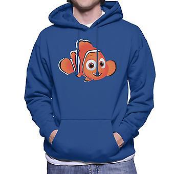 Disney finne Nemo Brush kunst menn ' s Hettegenser