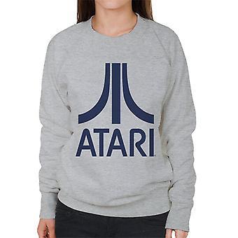 Atari Navy Logo Women's Sweatshirt