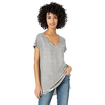 Marque - Daily Ritual Women-apos;s Supersoft Terry Dolman-Sleeve V-Neck Tuni...