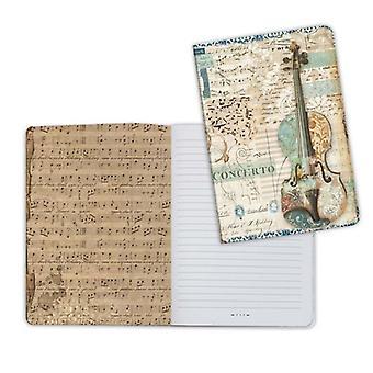 Notebook A5 Music Violin (ENBA5011)