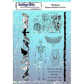 IndigoBlu Wicked A5 Rubber Stamp