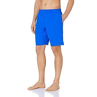 "Nike Swim Men's Solid Lap 9"" Volley Short Swim Trunk, Hyper Royal, X-Large"