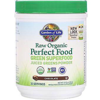 Giardino della Vita, RAW Organic, Cibo Perfetto, Superfood Verde, Cioccolato, 10.05 oz
