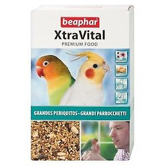Beaphar XtraVital papukaija elintarvikkeet (lintuja, lintujen ruokaa)