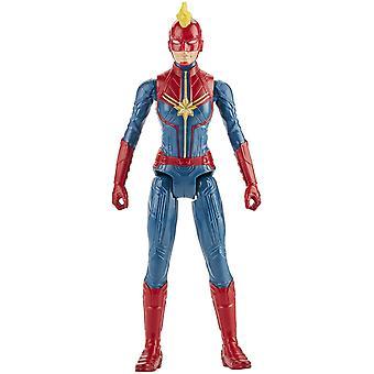 Marvel Avengers Titan Hero Series Captain Marvel Action Figure