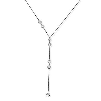 ChloBo Positive Vibes Lariat Necklace SNL839
