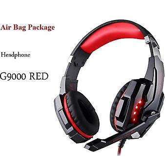 Gaming Headsets Big Headphones With Light Mic Stereo Earphones Deep Bass For Pc Computer Gamer Laptop Ps4  X-box