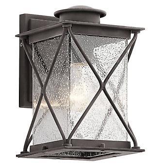 1 Lichte kleine buitenmuur lantaarn IP44, E27