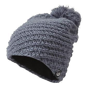 North Ridge Women's Hand Knitted Beanie Grey
