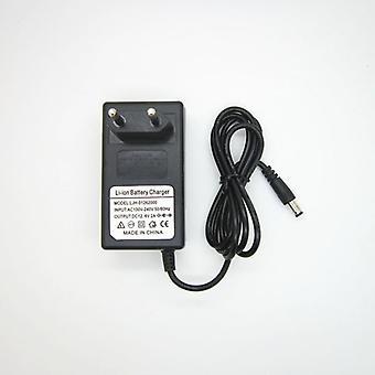 100v-240v 12.6v 2a 18650 Litium Akkulaturi 12 V Voltin virtalähde Dc
