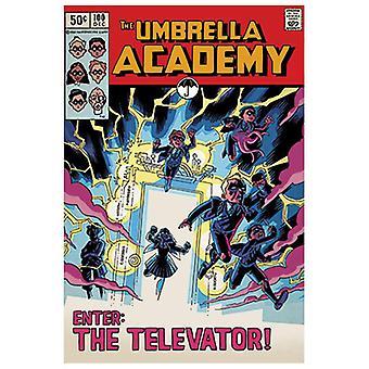 The Umbrella Academy, Maxi Poster - Televator