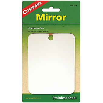 Coghlans Stainless Steel Mirror (C714)