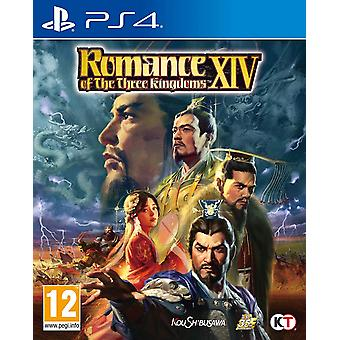 Romance of the Three Kingdoms XIV PS4 Game