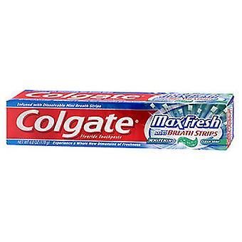 Colgate Max Fresh Whitening Toothpaste, Clean Mint 6 oz