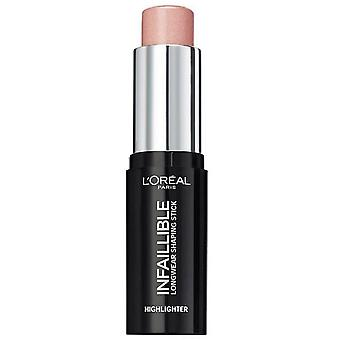L'Oreal  Infallible Highlighter Shaping Stick - Oh My Jewels 9g 501