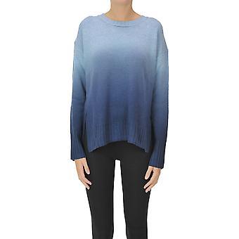 Malìparmi Ezgl194047 Women's Light Blue Wool Sweater