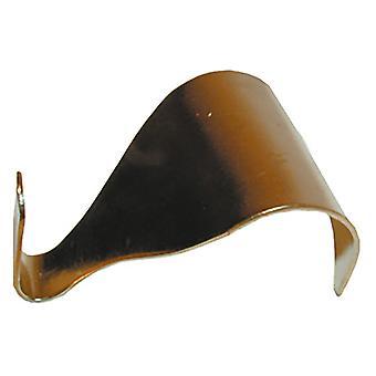 Home Label Moulding Hooks Brassed x 2 B0080-U