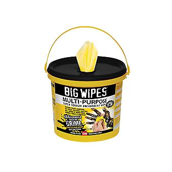 Big Wipes 4x4 Multi-Purpose Cleaning Wipes Bucket of 300 BGW2417