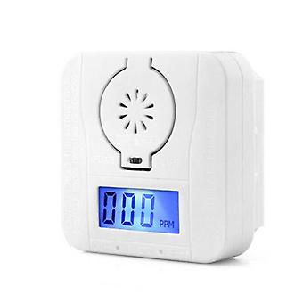 Gas Sensor/detector And Smoke Alarm Detectors Combination Poisoning (white)