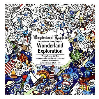 Mandalas Flower Coloring Book For Adult Graffiti Drawing