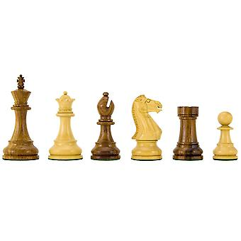 Winchester série Sheesham Chess Pieces 4 pouces