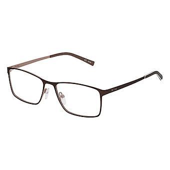 Mäns glasögonram Sting VST031540SDN Brun Röd (ø 54 mm)