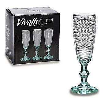 Weinglas Vivalto Glas Kristall (0,171 L) (7 x 20 x 7 cm) (185 ml)