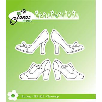 بواسطة Lene المرأة أحذية الطوابع واضحة