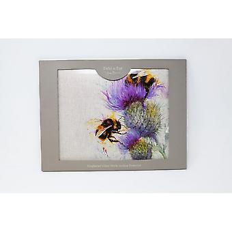 Jane Bannon Bees on Thistle Work Surface Protectors