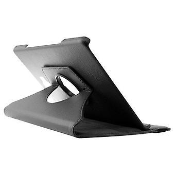 "Case 360º Samsung Tab A 10.1"" Leder Zwart"