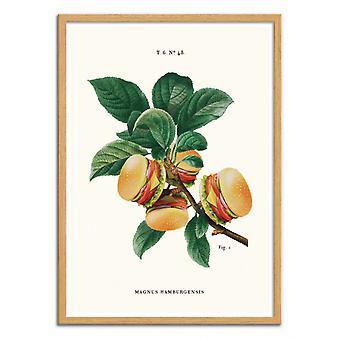 Pôster de Arte - Burger Plant - Jonas Loose
