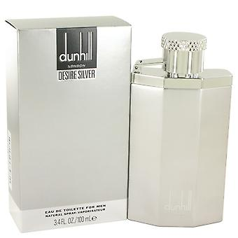 Halu hopea Lontoo / Alfred Dunhill Eau De Toilette Spray 3,4 oz/100 ml (miehet)