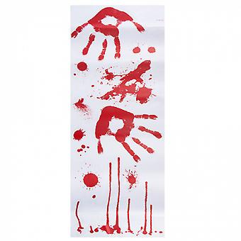 Sticker sheets Bloody Polyethynese White / Red 2 Pieces