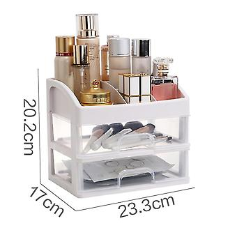 Plastic Makeup Organizer, Drawers, Storage Box