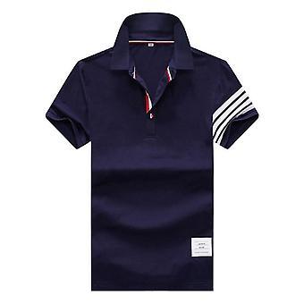 Men's Polo Shirt, Summer Short Sleeve, Clothing Casual, Cotton Luxury Designer,
