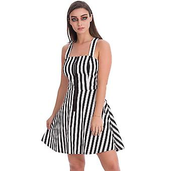 Banned Apparel Anti-Summer Stripe Dress