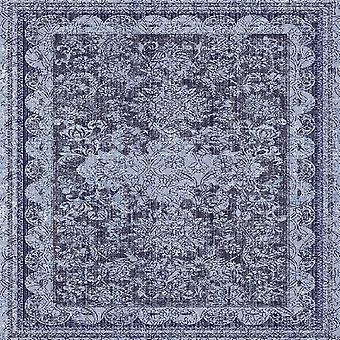 Tendencias étnicas 14 alfombras impresas multicolores en poliéster, algodón, L100xP150 cm