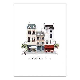Art-Poster - Paris - Maja Tomljanic