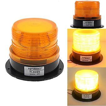 Allarme auto a led e luce di emergenza, faro stroboscopico lampeggiante ambra 12v-24v