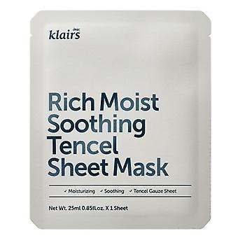 Klairs Rich Moist Soothing Tencel Sheet Mask 25 ml