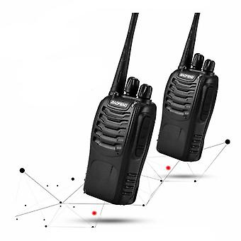 1pc Or 2pcs Baofeng Bf-888s Walkie Talkie
